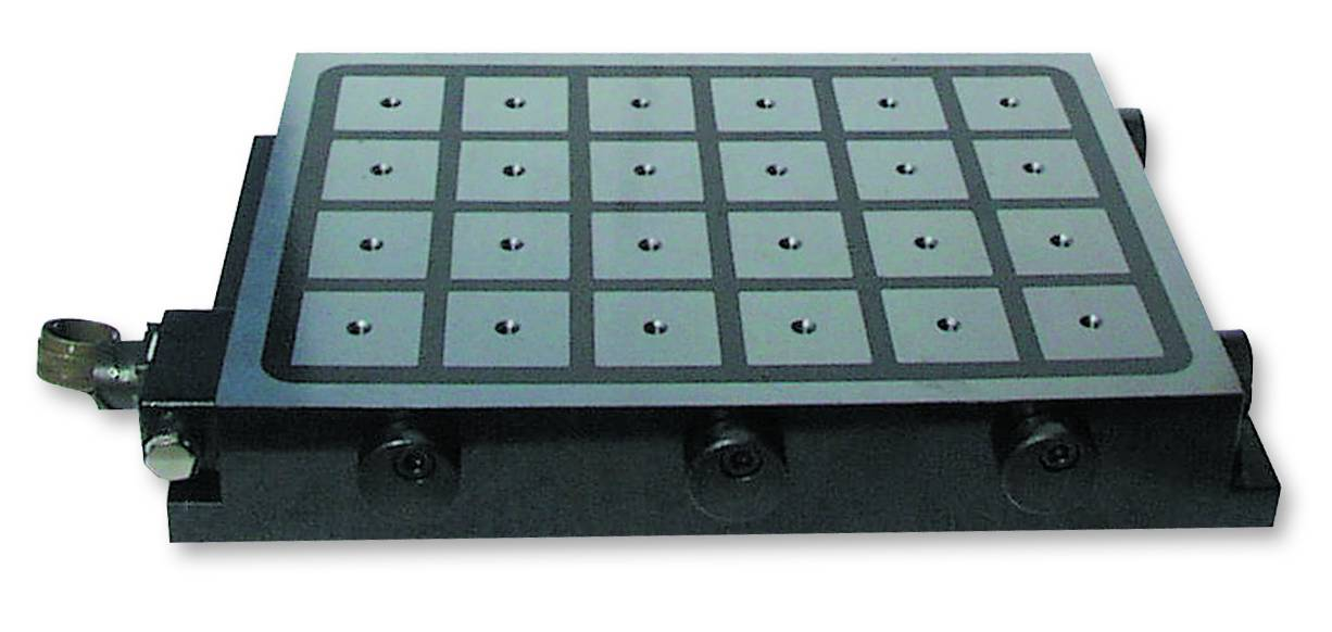 Combined Electric / Permanent Magnetic Clamping Plates